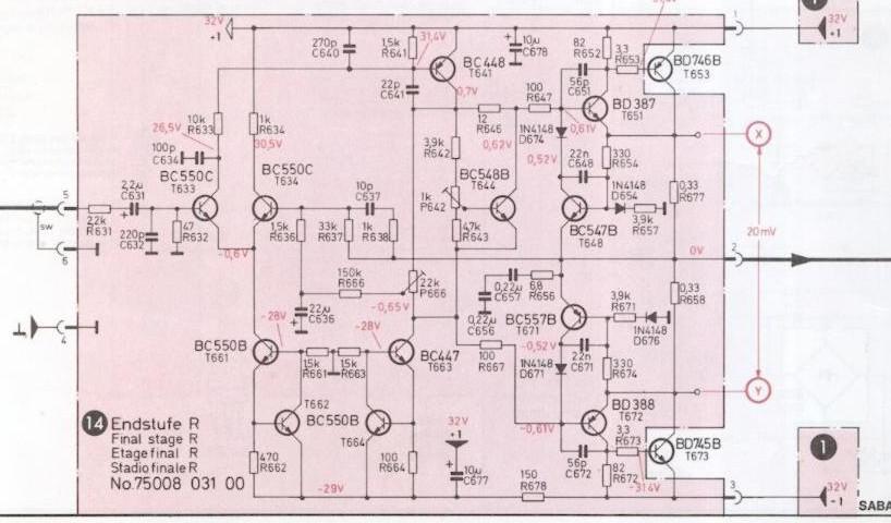 Saba MI 212 - Sicherung fliegt sofort raus! - Seite 2 - Verstärker ...